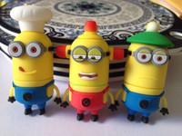 Funny Minions toy model USB 2.0 Enough Memory Stick Flash pen Drive 16G 32G 64G 128G P290