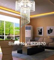 Crystal chandelier.Dia40cm*High60cm chandelier.6*E14 Bulb.France Gold +Clear Crystal chandelier