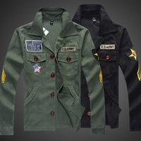 2014  new men's army jacket,American Flag jacket, fashion wild Korean Army Men Jacket military jacket
