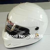 StarWars Full Helmet  FRP SIMPSON, motorcycle helmet ATV - 4 Star Wars pigs bright white Passed DOT