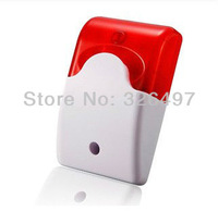 FE-103 Wireless Flashing Strobe Siren RF 433MHZ for GSM SMS Wireless Home Security Burglar Alarm System Control CHUANGO G5 / G3