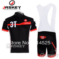 Cool men! High quality 3T Cycling clothes /Cycling Jersey ,Short-sleeved+ Bib Shorts . Free shipping!can be mix size.