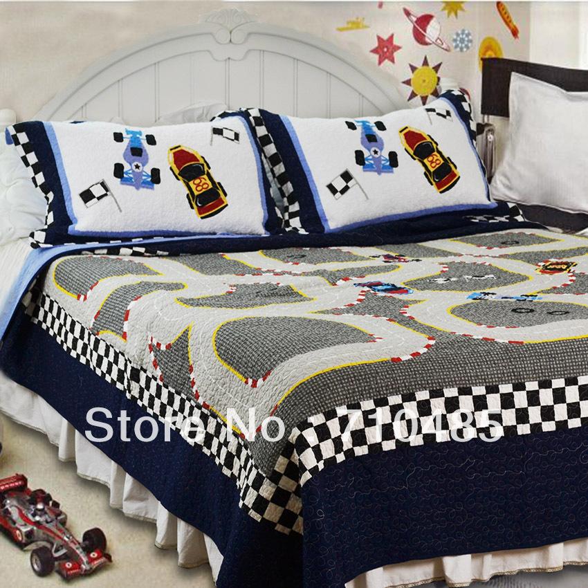 Online kopen Wholesale jongens quilt set uit China jongens quilt set ...