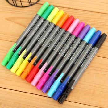 Ann hearts . the appendtiff stationery fresh monami double slider trigonometric watercolor pen multicolour pen paint brush