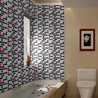 Free shipping Fixsheet maeseyck waterproof bathroom tile self adhesive paper oil paste hpc