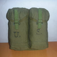 Us small waist pack thickening canvas size walkie talkie mineral water