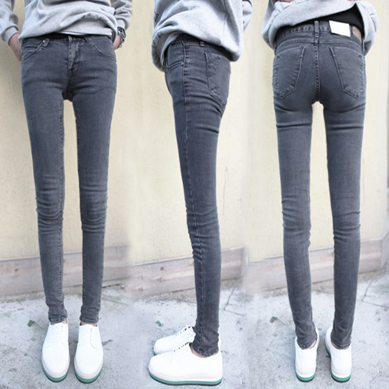 What to Wear With Grey Jeans Women 2013 Summer Wear Thin Black Grey Jeans Women Cultivate One 39 s Morality And