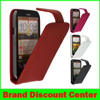 4Color,Original Doormoon Flip leather case Cover for HTC One SU T528w,100%Real cowhide cover,Free shipping