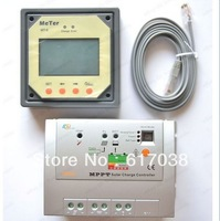 10A MPPT Solar Charger Controller Regulator Tracer 1215RN 150V input W/ Meter AU   Free shipping