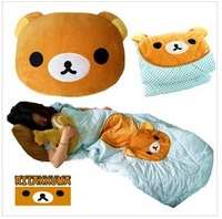 Free shipping bear cartoon toy gifts baby quilt cover air blanket  throw  for camping or home use
