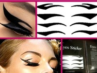 CPAM Wholesale And Retail 5 Set Eyeliner Sticker Shadow Stick Cigarette Smoked Eye Sticker Temporary Tattoo Best Gift BCZ004