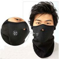 Bike Motorcycle Ski Snow Snowboard Sport Neck Winter Warmer Face Mask New Black