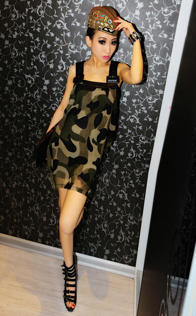 Camo Party Dresses