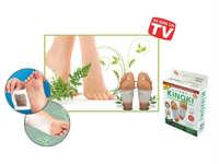 10pcs Kinoki Detox Foot Pads Patch Foot Mask Peeling Sticker Hallux Valgus Spa Ion Tourmaline Massage Energizer Free Shipping