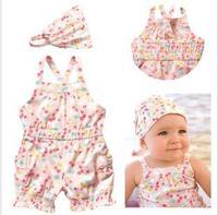 2013 new Children's Clothing  girls Clothing Sets baby kids girls clothes suts(romper+Headdress)2pcs,5sets/lot