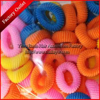 Free shipping 200pcs/lot Wholesale/Retail Mix color small ponytail holder Candy color elastic bands for kids Popular headbands