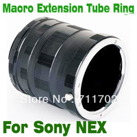 Wholesale 5pcs/lot Macro Extension Tube for Sony NEX-3 NEX-5 NEX-7 NEX-C3 NEX-5C NEX-5N For MILC / ILDC DEC1401