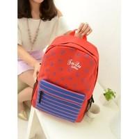 Free shipping College Wind new canvas shoulder bag  korean backpack school bag kids backpack June 2013