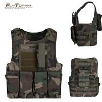 Outdoor tactical vest jungle Camouflage vest supplies vest cs