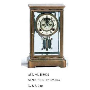 Technology clock four wheel mechanical clock antique fireplace clock home decoration