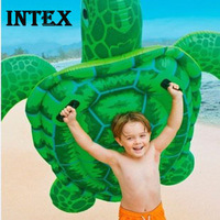 Intex large turtle style child swim ring water floating inflatable toys turtle