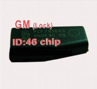 Wholesale 10PCS/Lot Professional GM ID46 ID:46 ID 46 (Lock) Transponder Chip with 100% High Quality+Free Shipping