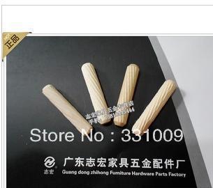 Ambry of furniture hardware accessories twill log wood tenon/xiao pin wood screw fittings 8 * 40