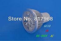 4W GU10LED Spot light led lamp 85-265V AC Warm White /White /green /red bulb Lamp