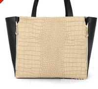 Free shipping 2013 MAO MAO bag double zipper snake skin handbag big shopping bag vintage handbag wholesale and retail