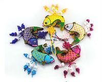 Chinese Style Handicraft Silk Embroidery Sachet Phone Strap