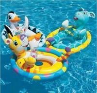 Intex baby floating ring child swim ring inflatable seat ring animal penguin style 1 - 4
