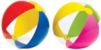 Intex-59032 beach ball strenuous multicolour transparent ball child beach ball toy ball inflatable ball 61cm
