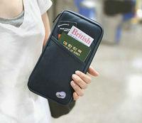 FASHION NEW TRAVEL PASSPOART CREDIT ID CARD CASH HOLDER MULTICOLOR