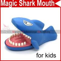 Novelty Bite fingers Big Magic Shark Mouth Dentist Bite Trap Trick Game Toys Party for kids children 3907