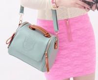 Top Quality Vintage 2013 Newest PU women's handbag Fashion shoulder bag  Cute color Summer essential