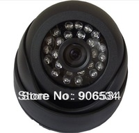 promotion 700tvl CMOS 24leds blue leds indoor CCTV dome Camera Security camera. free shipping!