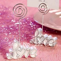 8pcs/lot Love Resin Place  Card Holder