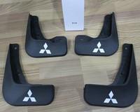 Free shipping  2010-2013 Mitsubishi Lancer/Lancer X/Lancer Evo Soft plastic Mud Flaps Splash Guard,Free shipping