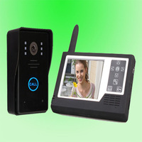Free shipping 3.5 doesthis full touch battery fashion wireless visual doorbell weatherproof night vision