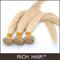 Straight Light Blonde Color 613# Malaysian Hair Extension