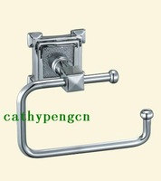 Free shipping Brass padlock hardware locks bathroom hardware copper toilet paper holder lu-203