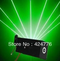 High quality LED Laser head lights 100mw green laser  10W AC110V/220V/240V Use for disco