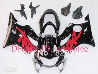 free shipping red black for HONDA CBR600F4 1999-2000 CBR 600F4 99-00 CBR600 F4 600 F4 99 00 2000 1999 ABS fairing kit