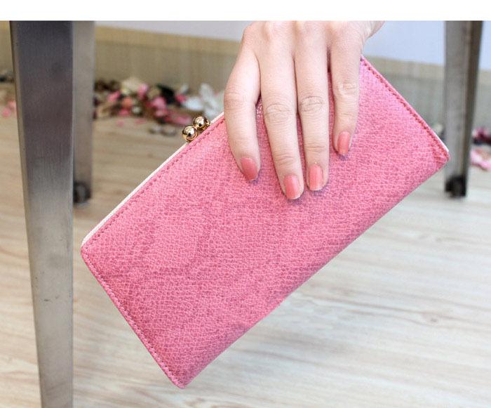 2013 New Fashion Designer Women Wallet Serpentine Clutch Purse Pretty Gold Buckle Handbag European & American Style High Quality(China (Mainland))