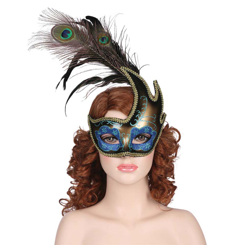 Peacock Costume Mask