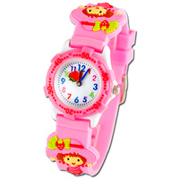 Hiin girl strawberry jelly table cartoon child watch resin
