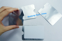 10pcs RFID Blocking Security Sleeves for Credit Card ATM Debit Payment Card Contactless IC Identity Protector Holder Blocker OEM