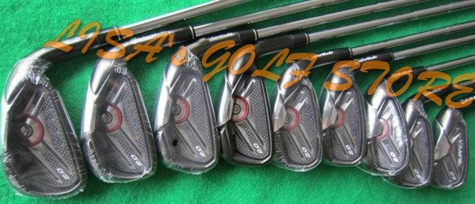 tm Burner 2.0 Golf Irons 4~9PAS 9pcs/lot Steel R Shaft Golf Clubs Free Shipping(China (Mainland))