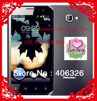 "Hot selling-Stock Newman N2 Quad Core 1.4GHz 1GB RAM+8GB ROM 4.7"" 1280x720P IPS Screen Camera Smart Phone"