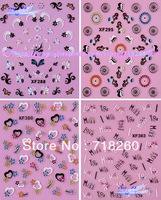 5Packs/Lot XF271-303 Wholesale Dried Flowers Konad Stamping Nail Art 3D Molds Nail Appliques Hot Sell